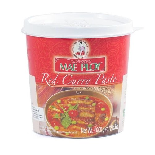 Mae Ploy Red Curry Paste 1kg SPECIAL PRICE Best Before 04/21