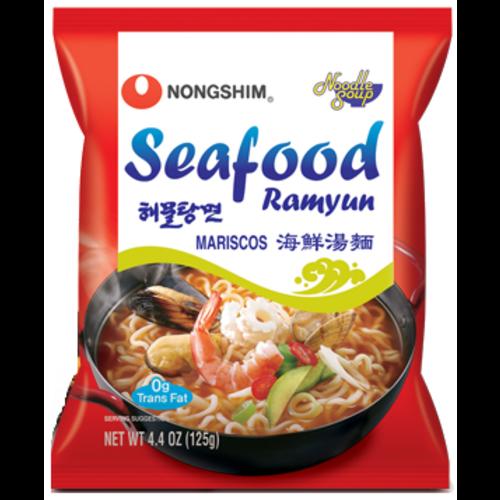 Nongshim Noodle Soup  - Seafood Ramyun 125g