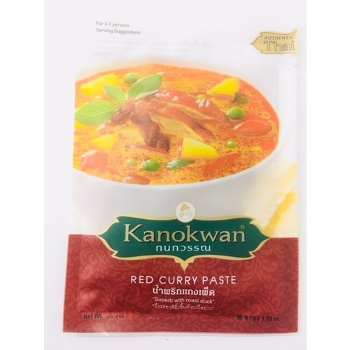 Kanokwan Red Curry Paste 50g Best Before 04/21