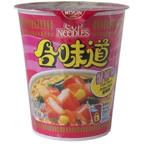 Nongshim Crab Flavour Cup Noodle 75g Best Before 06/21