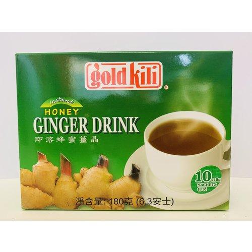 Gold Kili Ginger Honey Drink / Tea 180g