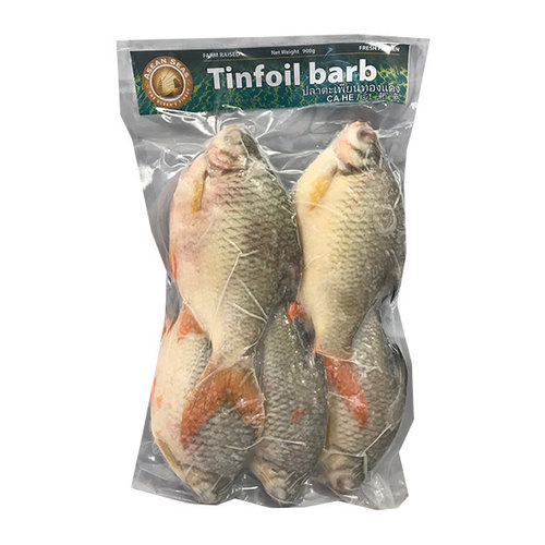 Asean Seas Tinfoil barb 900g Frozen  PLEASE CHOOSE A.M. DELIVERY ONLY