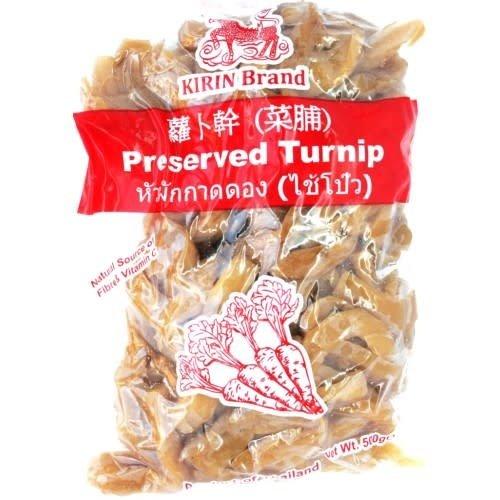 Kirin Preserved Turnip(sliced) 500g