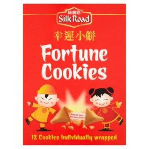 Silk Road Chinese Fortune Cookies 70g Best Before 04/21
