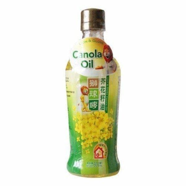 Lion & Globe Pure Canola Oil 900ml