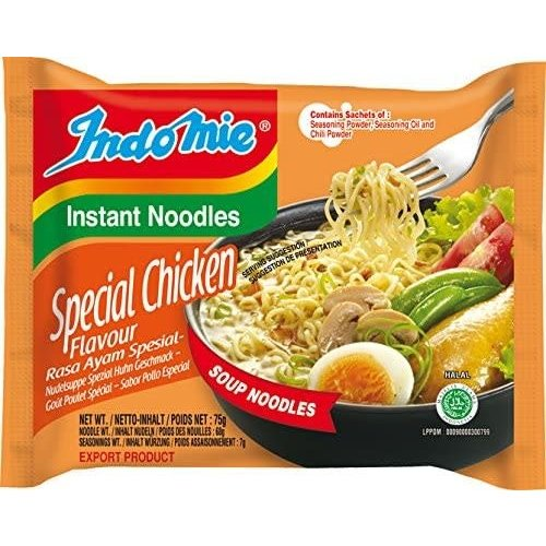 Indo Mie Instant Noodles Special Chicken Flavour 75g