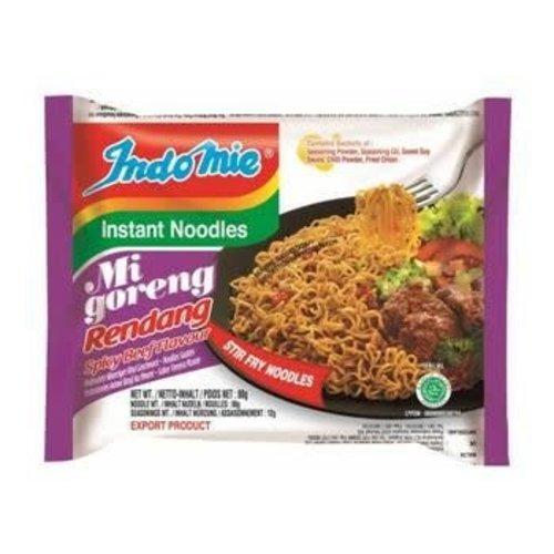 Indo Mie Mi Goreng Rendang Instant Noodles 80g