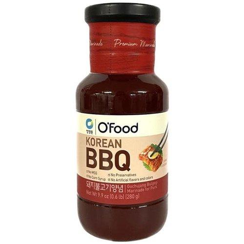 O Food BBQ Bulgogi Sauce & Marinade For Pork 280G