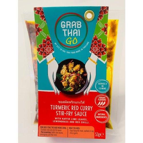 Grab Thai Turmeric Red Curry Stir-Fry Sauce 53g