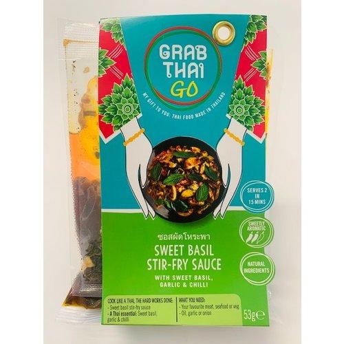 Grab Thai Sweet Basil Stir-Fry Sauce 53g Best Before 09/21