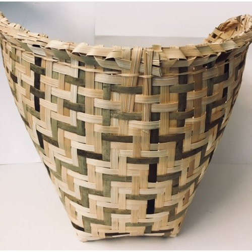 Sticky Rice Bamboo Basket For Glutinous Rice M 24cm (Huad)