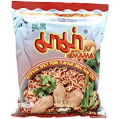 Mama Instant Noodles - Moo Nam Tok  55g SPECIAL OFFER Best Before 04/21