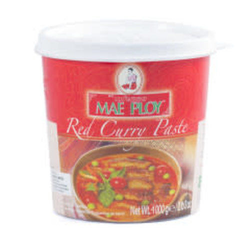 Mae Ploy Red Curry Paste 1kg Best Before 11/2021
