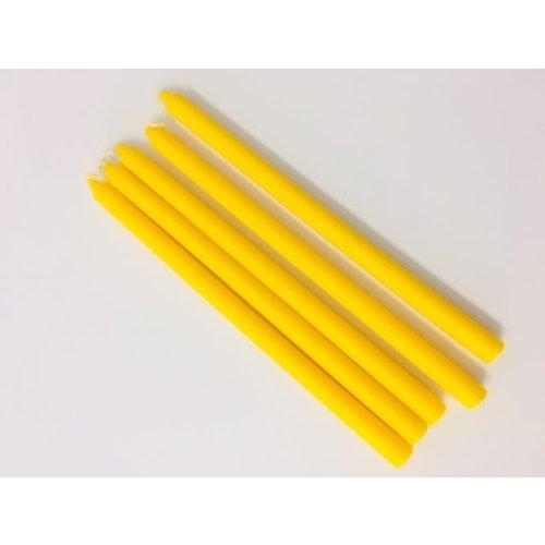 Yellow Praying Candles  x 5