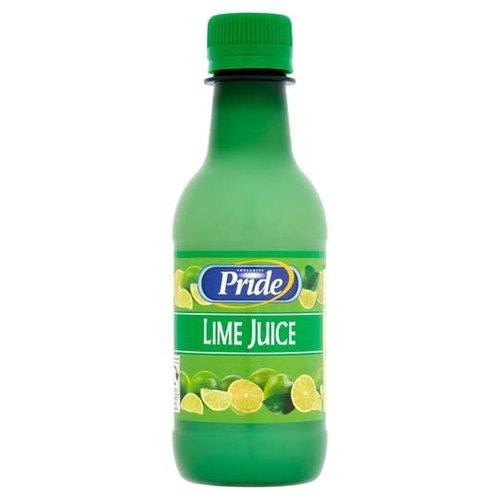 Pride Lime Juice  Bottle 250ml Special Offer Best Before 06/21