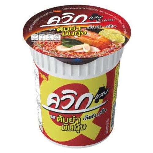 Wai Wai Noodle Cup - Tom Yum Mun Goong (Hot & Spicy Sour Shrimp)