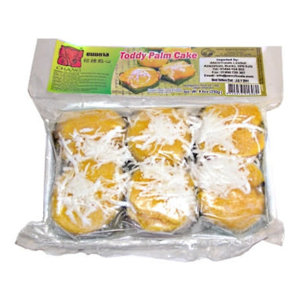 Chang Frozen Toddy Palm Cake 250g  FOR A.M. DELIVERY ONLY