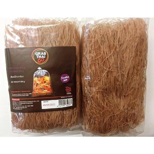 Grab Thai Brown Rice Vermicelli 200g