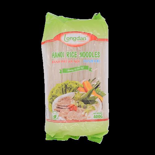 Longdan Rice Noodles -Ha noi Straight 400g