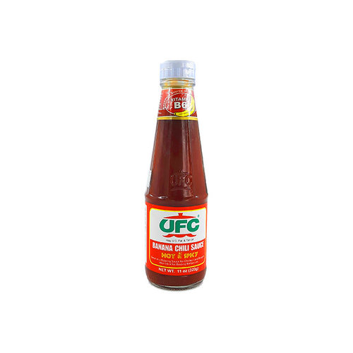 UFC Banana Sauce Hot & Spicy 320g