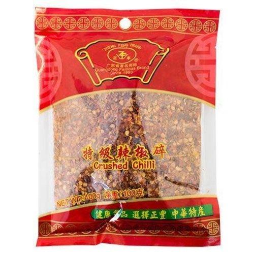 Zheng Feng Brand Crushed Chilli 100g