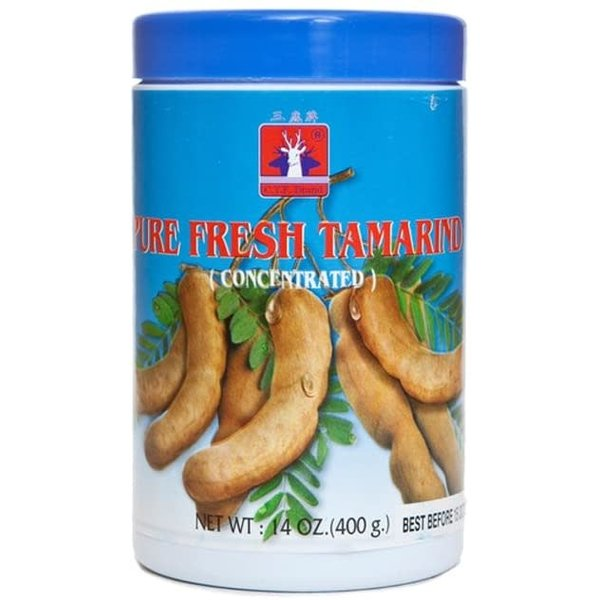 Three Deer Brand Pure Fresh Tamarind Concentrate 400g
