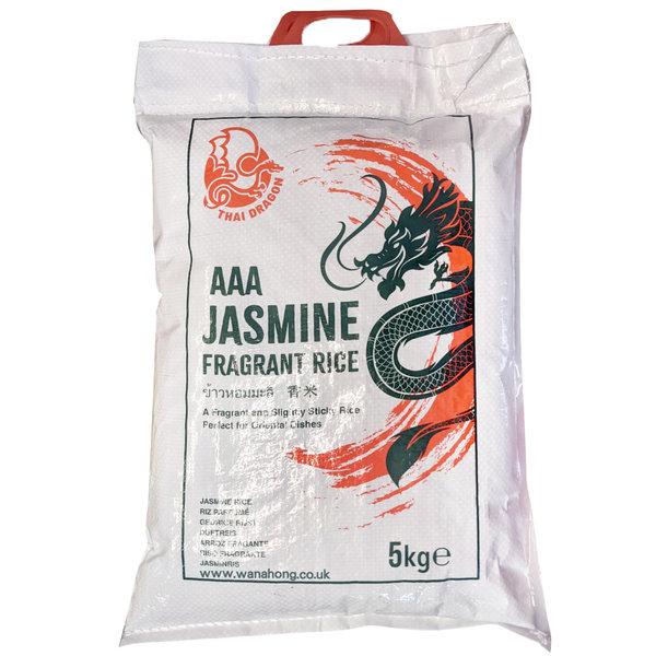 Thai Dragon Jasmine Rice AAA 5kg