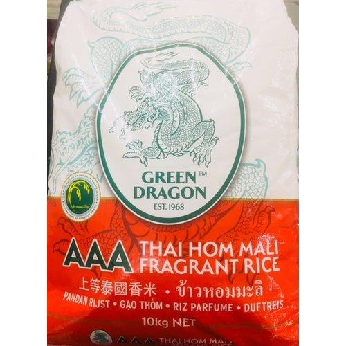 Green Dragon Jasmine Rice 10kg