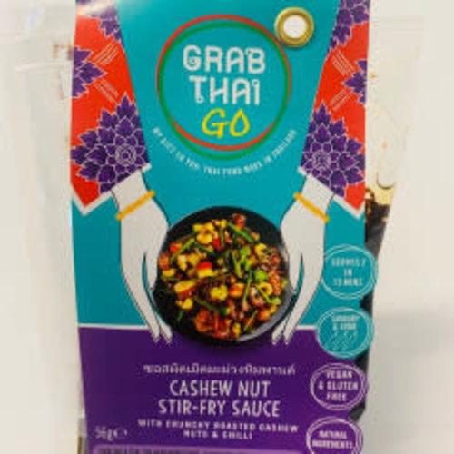 Grab Thai Cashew Nut Stir-Fry Sauce 56g (Vegan & Gluten Free) SPECIAL OFFER BBE 9/21