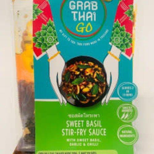 Grab Thai Sweet Basil Stir-Fry Sauce 53g