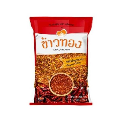 Khaothong Ground Dried Chilli 100g