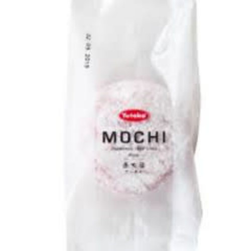 Yutaka Rice Cake Mochi Pink 95g (Frozen)  PLEASE CHOOSE A.M. DELIVERY ONLY