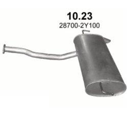 Hyundai ix35 2.0 Einddemper