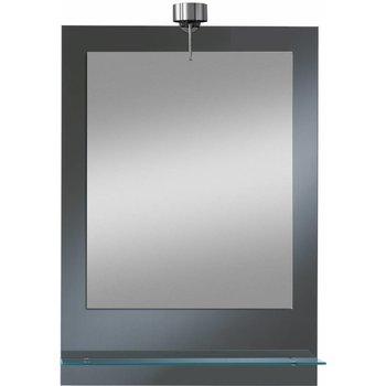 LED-Lichtspiegel Lucio  mit Glasablage [A+]