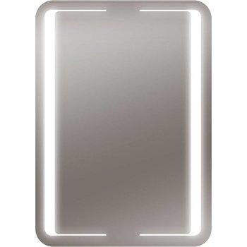 LED-Lichtspiegel Korona mit sandgestrahlten Lichtausschnitten [A+]