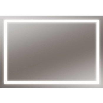 LED-Lichtspiegel Aurelia mit sandgestrahlten Lichtausschnitten [A+]