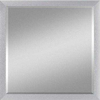 Hochwertiger Spiegel MEGA mit Rahmen aus gebürstetem Aluminium