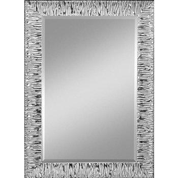 Eleganter Wohnraumspiegel PERINO in Zebra-Optik