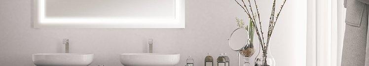 Beleuchtete Spiegel - ideal für jedes Badezimmer!