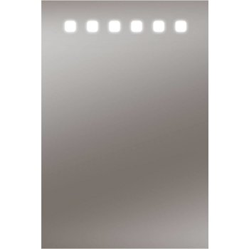 LED-Lichtspiegel BARBOSA mit sandgestrahlten Lichtausschnitten [A+]