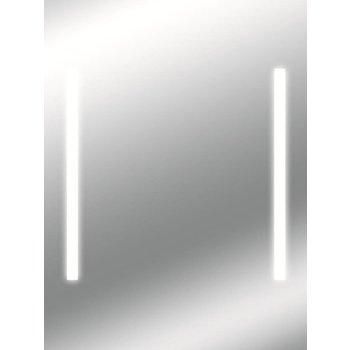 LED-Lichtspiegel THUBAN mit sandgestrahlten Lichtausschnitten [A+]
