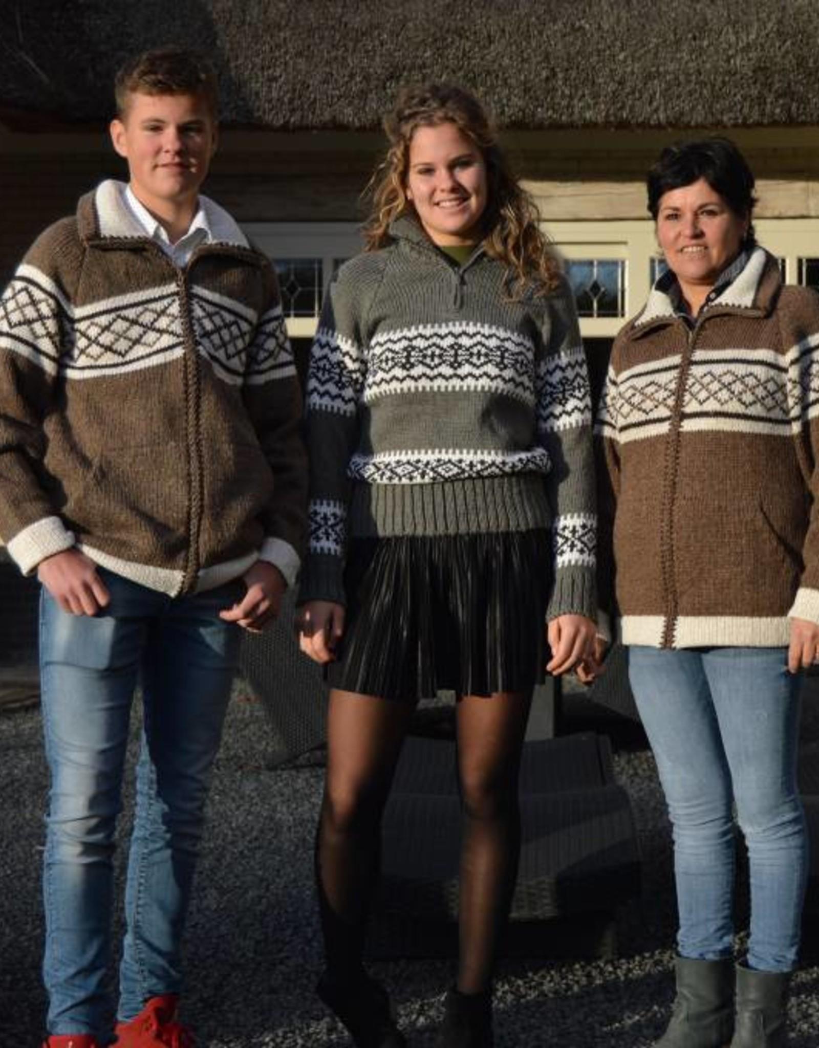 """Gebreid wollen vest """"Douro"""""""