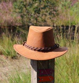 "Original south Leren "" Cowboy""hoed"