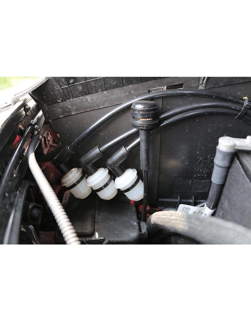 VW T5 Getriebeentlüftungen für höhere Wattiefe