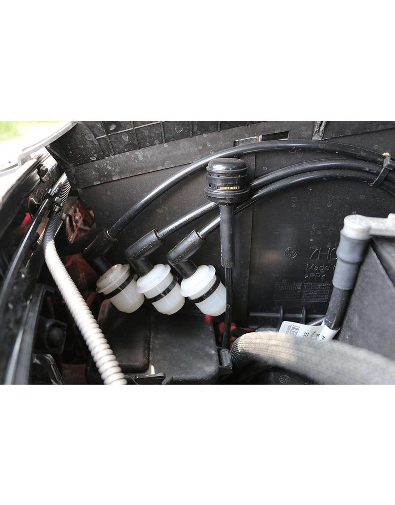 VW T6 Gearbox vents for greater fording depth