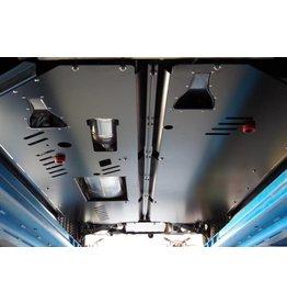 VW T6 long Plaque de protection réservoir à différentiel