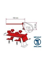 FIAMMA F35 PRO KIT STANDARD Installation on Roof Rails