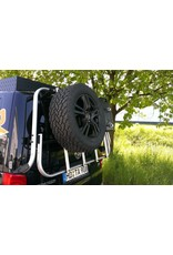wheel carrier module for our modular back carrier for VW T5/T6 and MB Vito/Viano/V-class