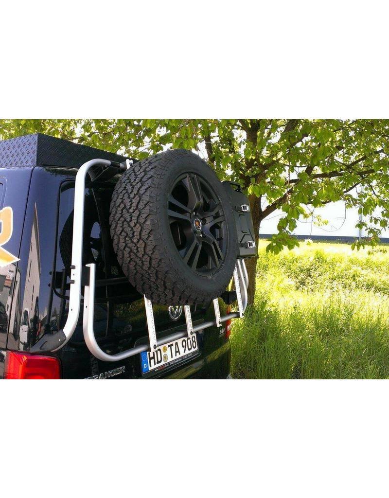 Module porte roue pour notre système modulable pour hayon  VW T5/T6 et MB Vito/Viano