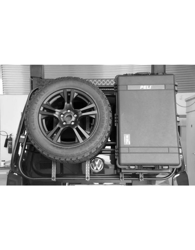 Module porte Peli-box pour notre système porte charge modulable pour VW T5/T6 et MB VITO/VIANO